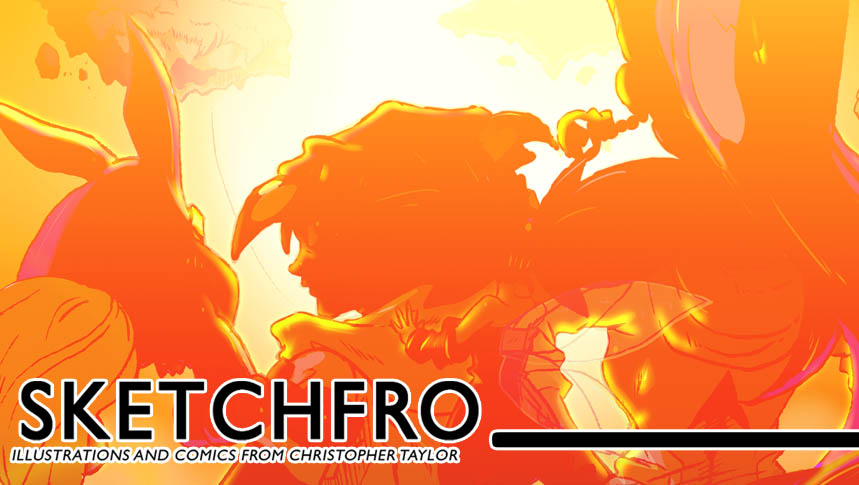 SKETCHFro! Bloggasaur of Christopher Taylor's Art, Illustrations and Comics!