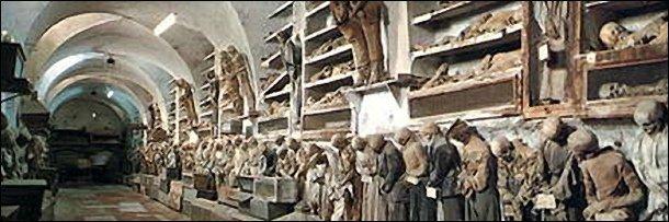 7 Musium Paling Menakutkan di Dunia: Catacombe dei Cappuccini