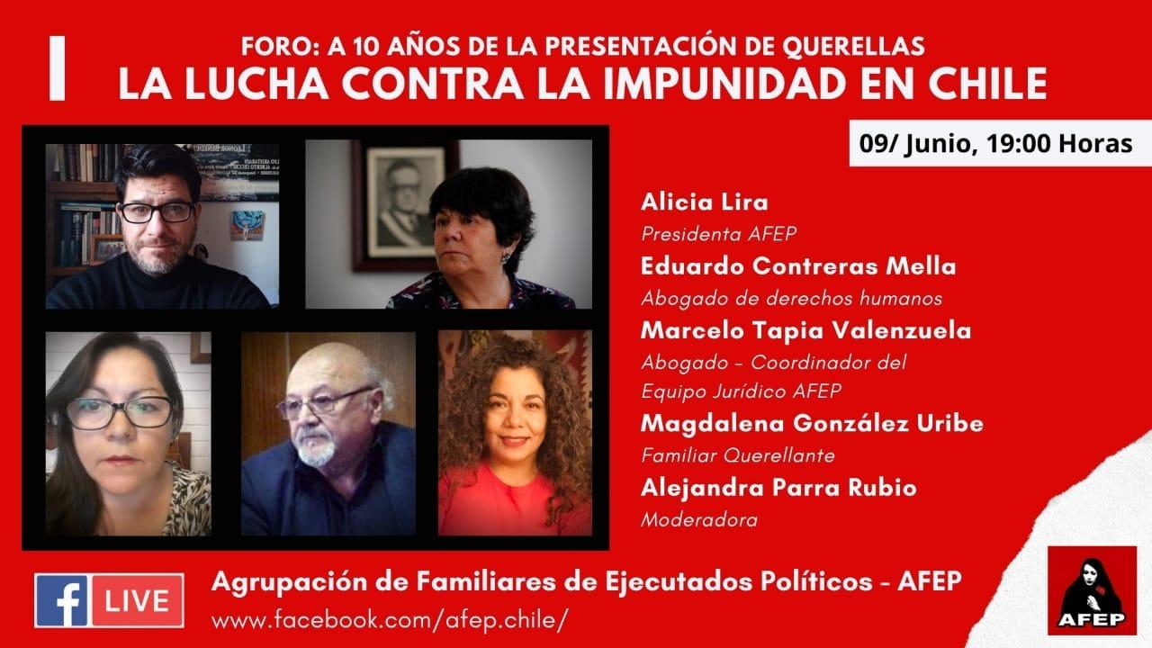 LA LUCHA CONTRA LA IMPUNIDAD EN CHILE