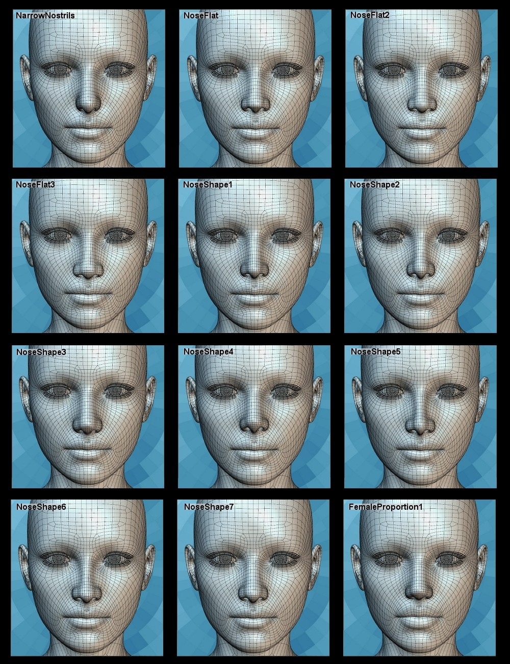 Genesis 2 Head Morph Resource Kit