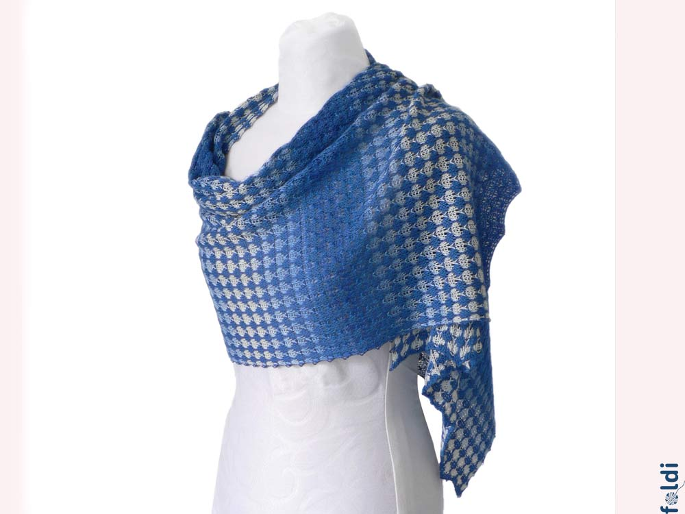 Knitting Machine Scarf Pattern : foldi: Waves Scarf