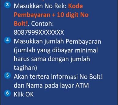 Masukan kartu ATM Sobat ke dalam Mesin ATM Kemudian Pilih Bahasa