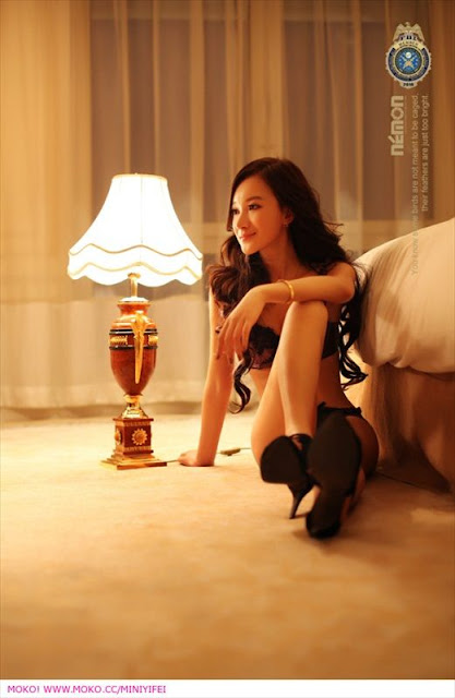 Chinese Model  Sun Yi Fei
