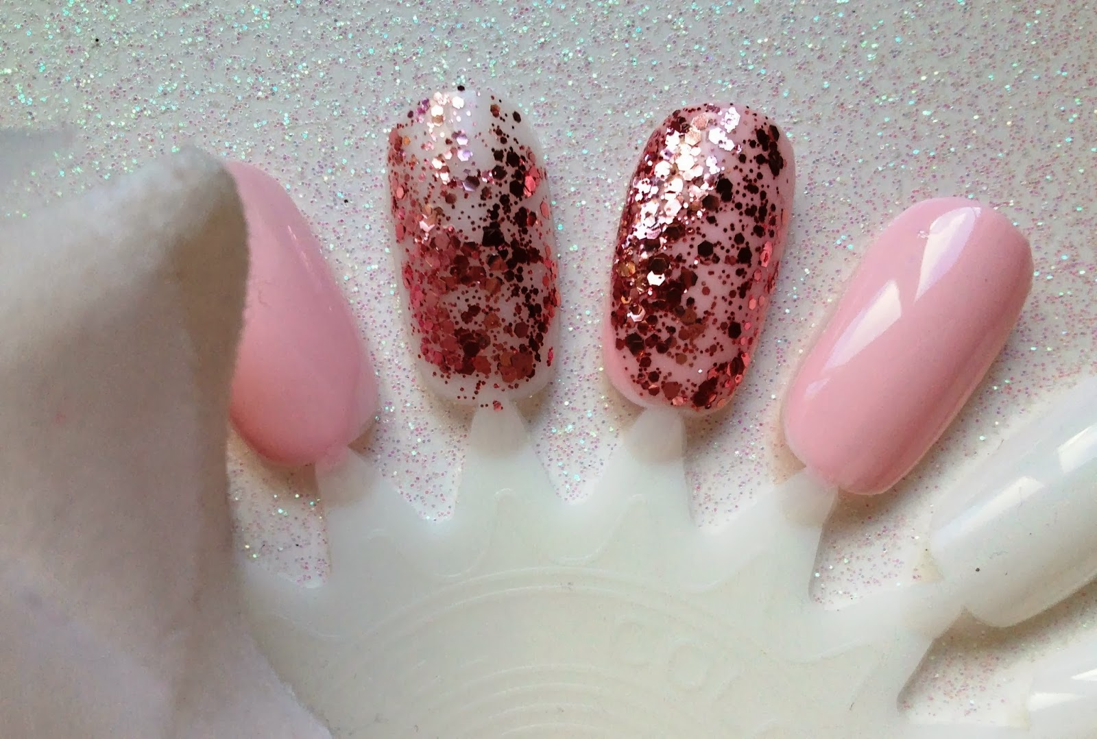Moonstone & May: Essie \'A Sprinkle in Pink\' - A match made in fairy ...