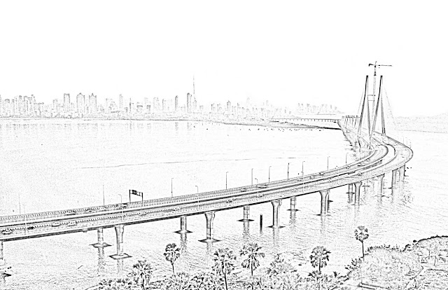 sketch of sea-link