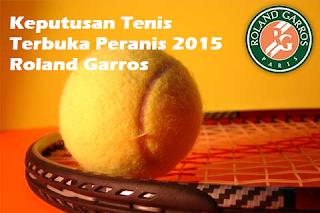 result Tenis Terbuka Perancis 2015 Roland Garros