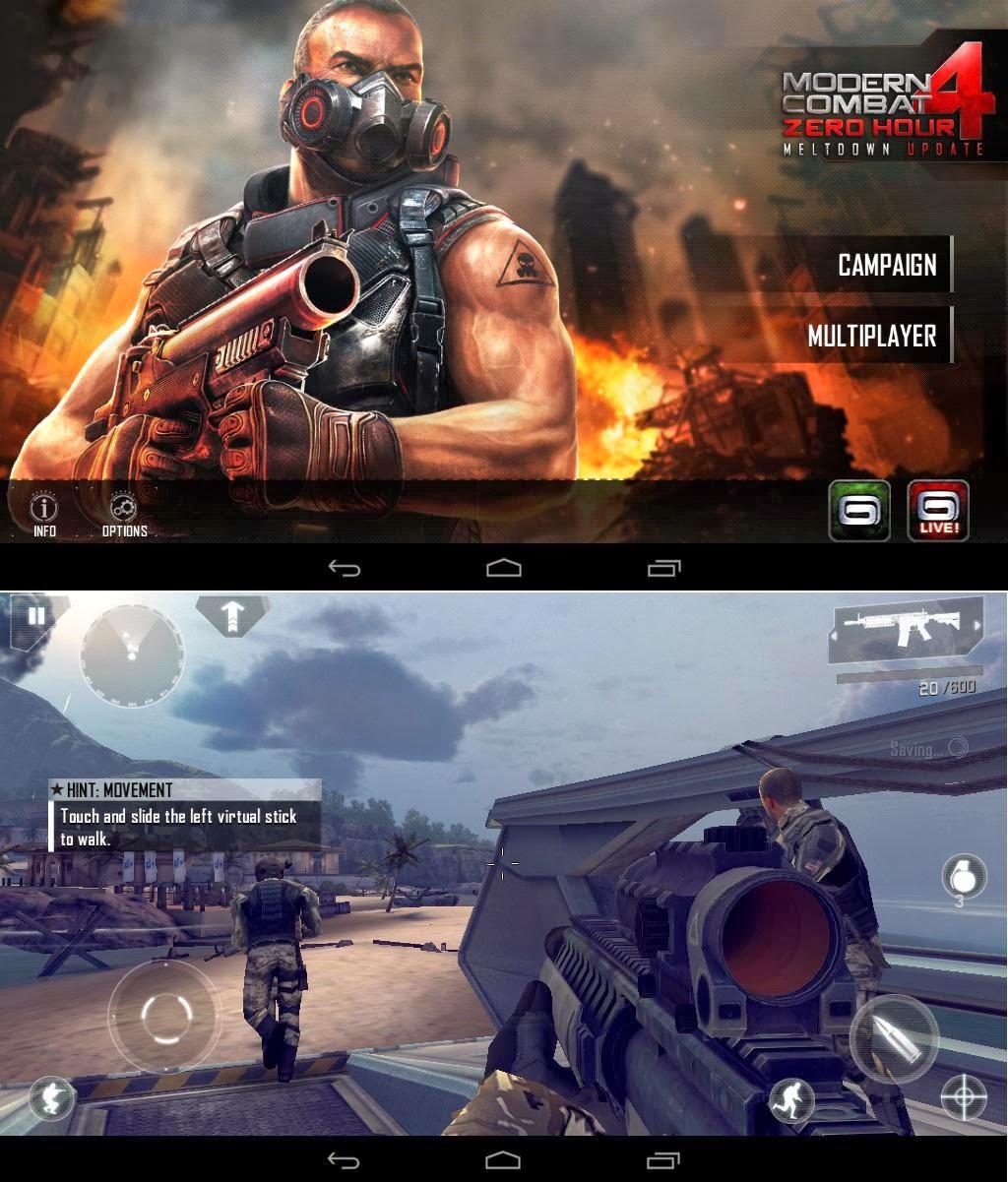 SKK Mobile Extreme Modern Combat 4