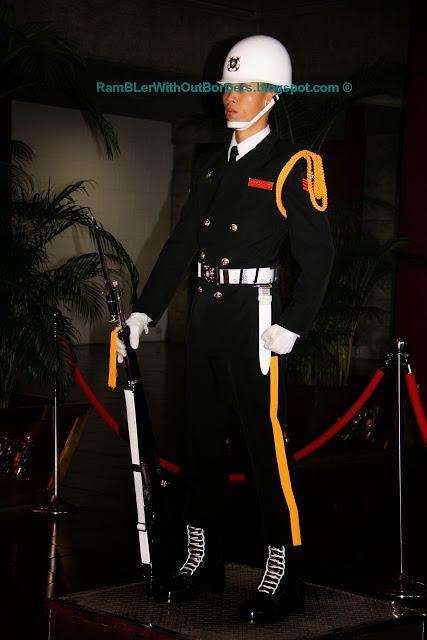 Honour Guard, National Sun Yat-Sen Memorial Hall, Taipei, Taiwan
