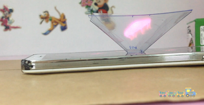Simple DIY Hologram 3D Projector 4