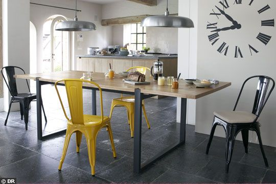 en attendant la crevette inspiration le style industriel. Black Bedroom Furniture Sets. Home Design Ideas