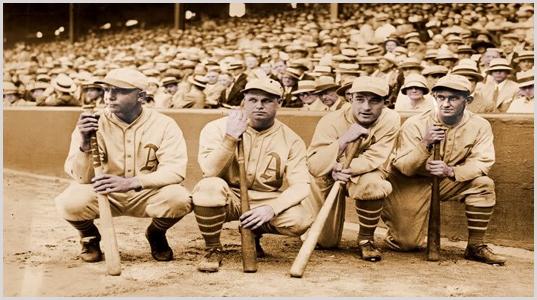 1931 Athletics - Haas, Miller, Foxx, Cochrane