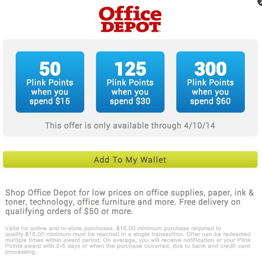 Elegant ... Office Depot Rebate By Green Espirit Staples Expired In Plink Effective  3 12 2014 ...