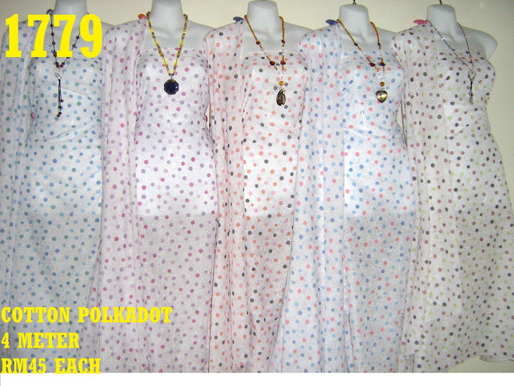 CP 1779: COTTON POLKADOT, 4 METER, 5 COLORS