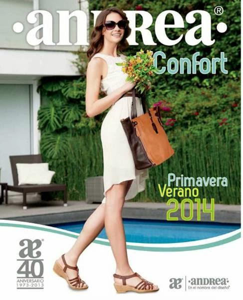 catalogo andrea confort calzado PV 2014