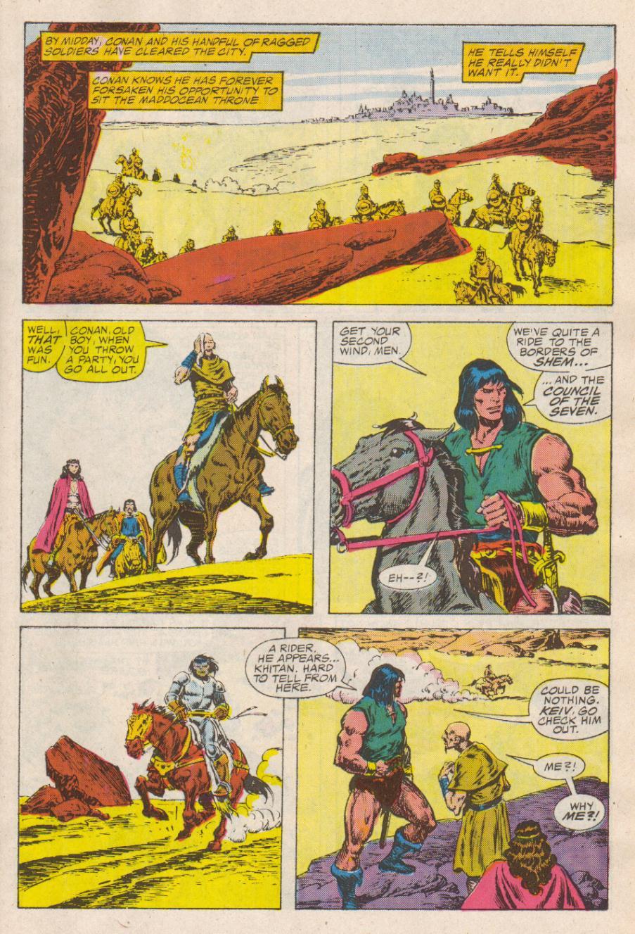 Conan the Barbarian (1970) Issue #190 #202 - English 10