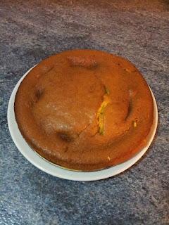 bizcocho de zanahorias - tarta de zanahorias
