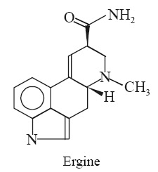 Ergine Synonyms Lysergamide; Lysergic acid amide