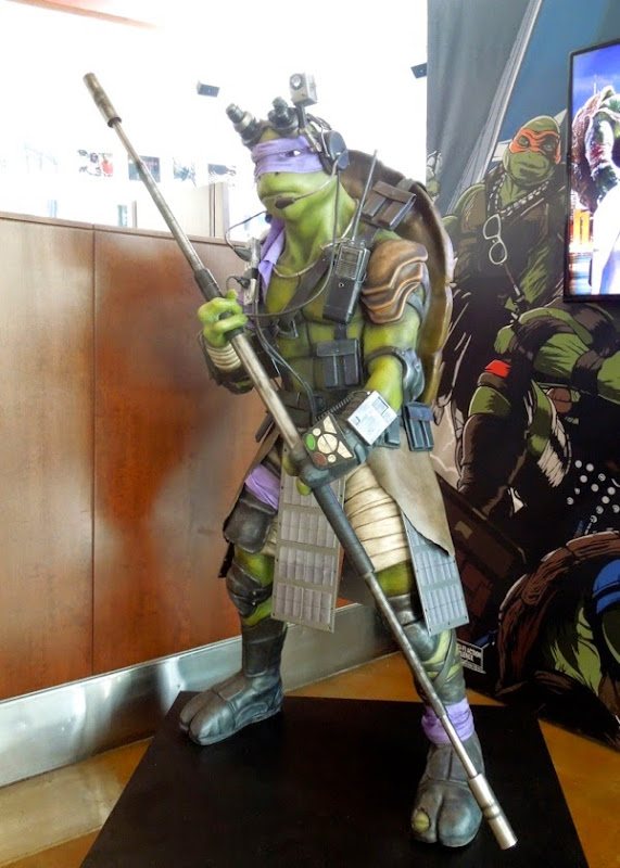 Donatello statue Teenage Mutant Ninja Turtles