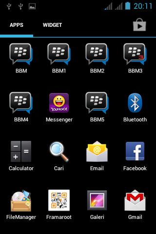 Aplikasi 5 BBM Dalam Satu Android