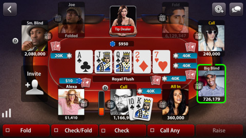 Poker by Zynga Games Casino iphone applications