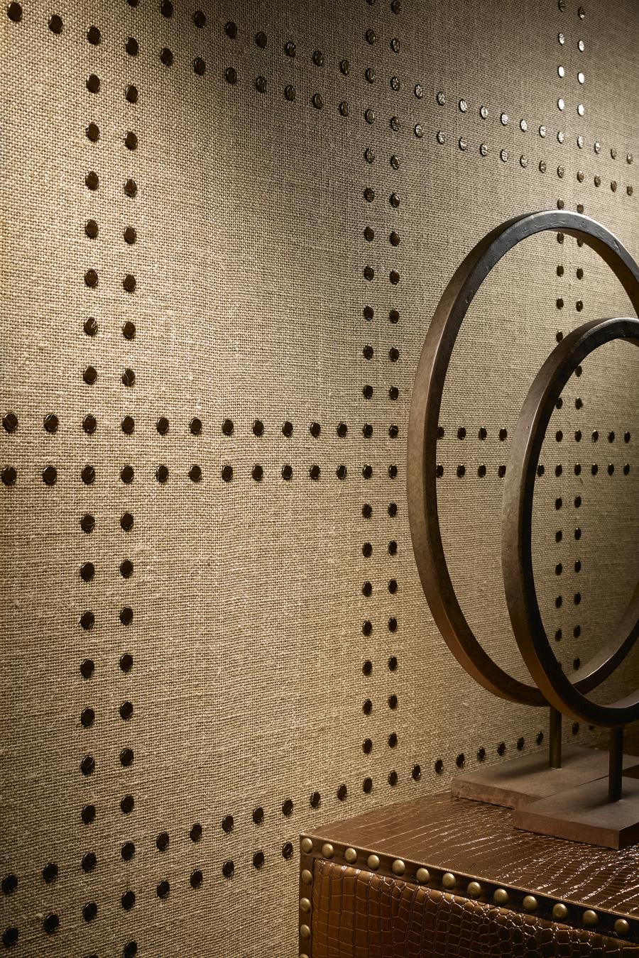 Cloth Wall Coverings : Beautiful habitat favorite things rivets wall coverings