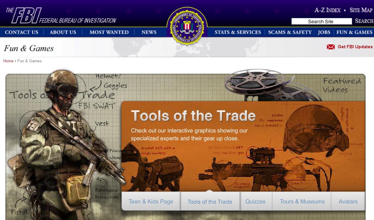 FBI Fun & Games