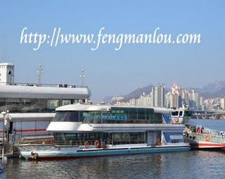 汉江游船河