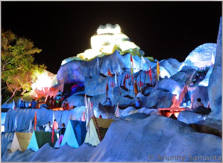 Durga Puja 2014 - Pandal hopping on Panchami midnight