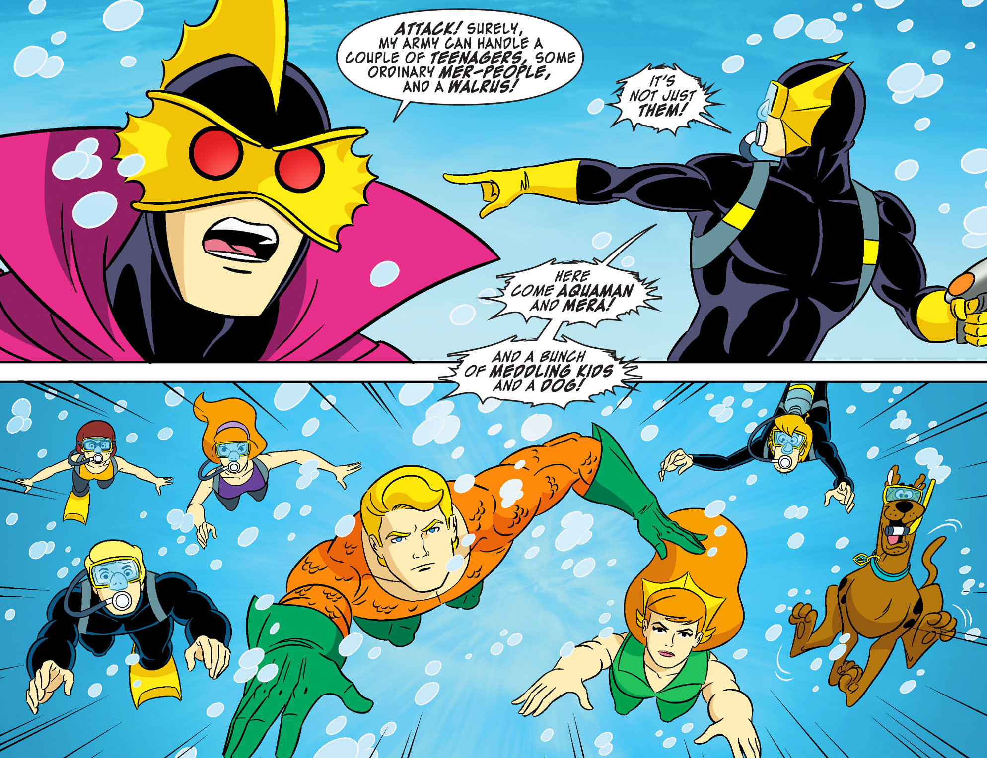 Read online Scooby-Doo! Team-Up comic -  Issue #28 - 13