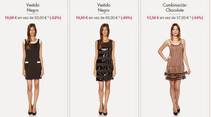 Ejemplos de vestidos en oferta de la marca Molly Bracken