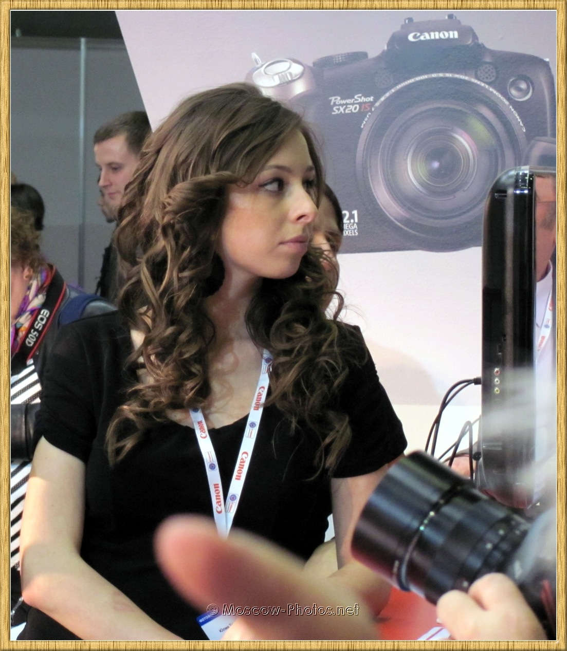 Canon Girl at Photoforum - 2010, Moscow