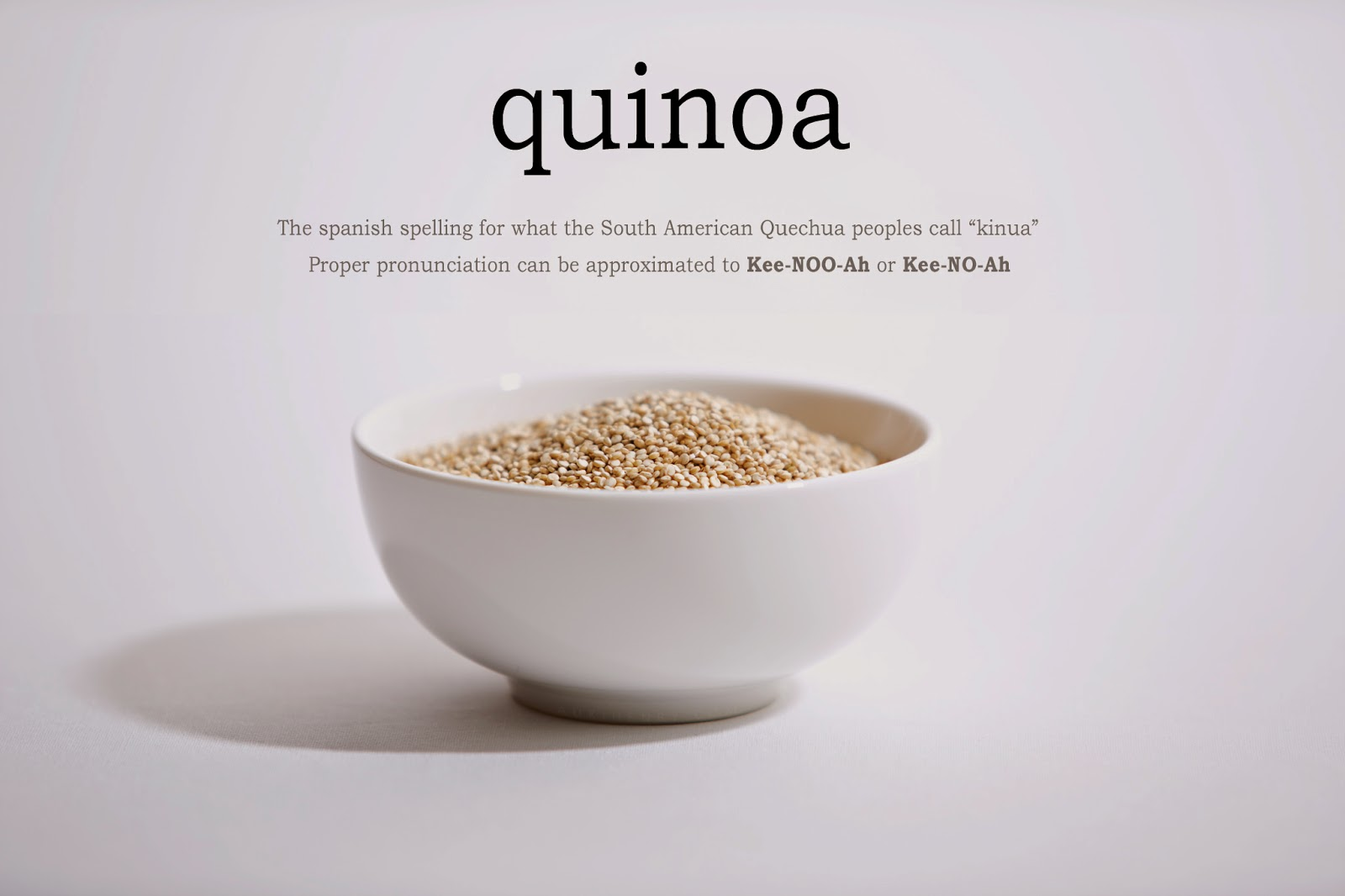 How to Pronounce Quinoa — How to pronounce Quinoa - photo#10