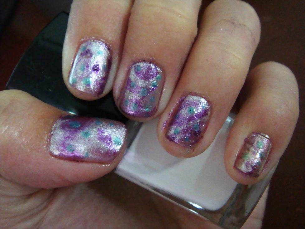 marble nail art-70