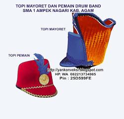 TOPI MAYORET DRUMBAND  SD