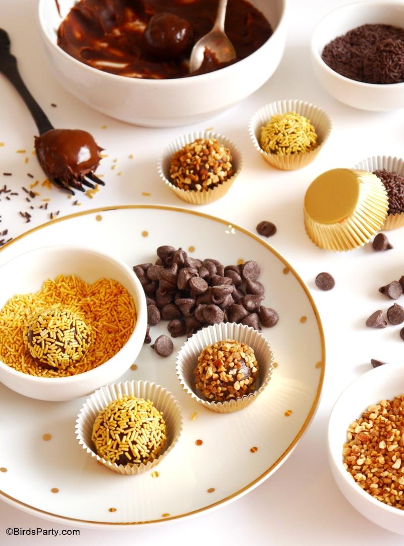 Recette | Truffes Brésiliennes Brigadeiro au Chocolat