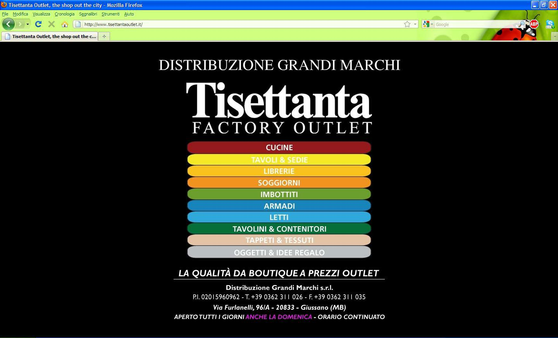 Tisettanta for Tisettanta outlet