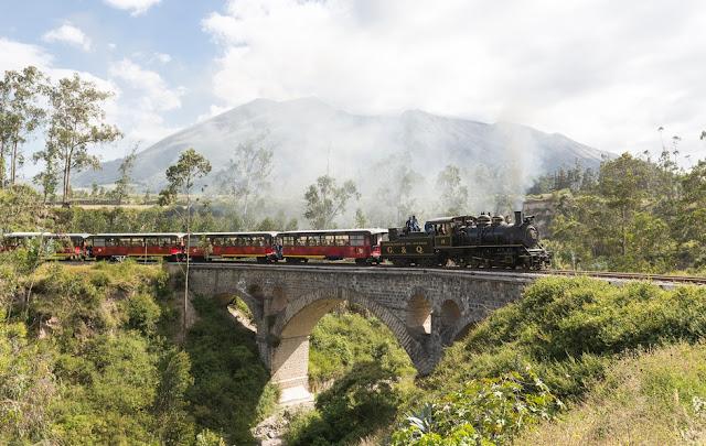 Turismo en Ecuador – Viaje turístico en Tren – Tour tren de los Lagos