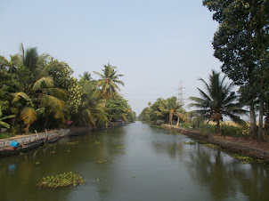 Waterways  in the Backwaters.