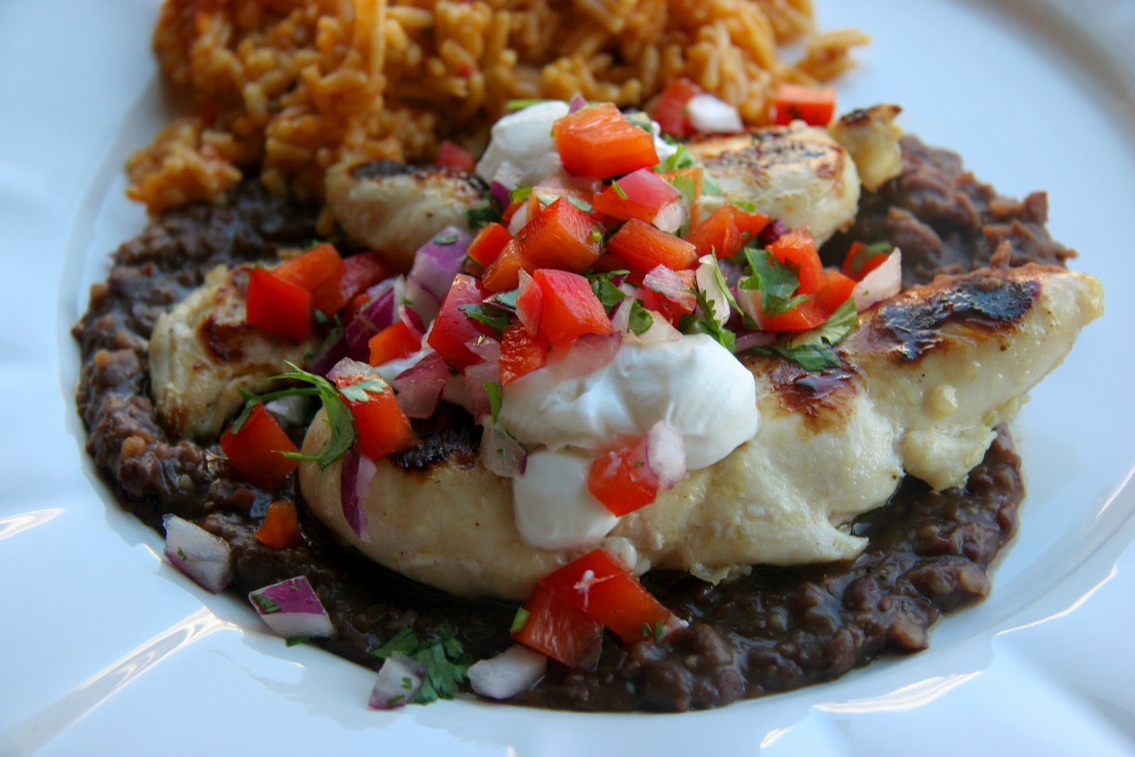 Grilled Lime Chicken With Black Bean Sauce Recipe — Dishmaps