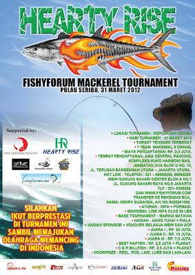 HEARTY RISE FISHYFORUM MACKEREL FISHING TOURNAMENT
