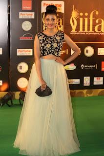 Monal Gajjar Stills in Designer Dress At IIFA Utsavam Awards 2016 ~ Bollywood and South Indian Cinema Actress Exclusive Picture Galleries