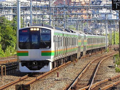 東海道線 普通 熱海行き E217系