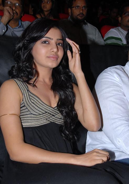 samantha at bus stop audio launch actress pics