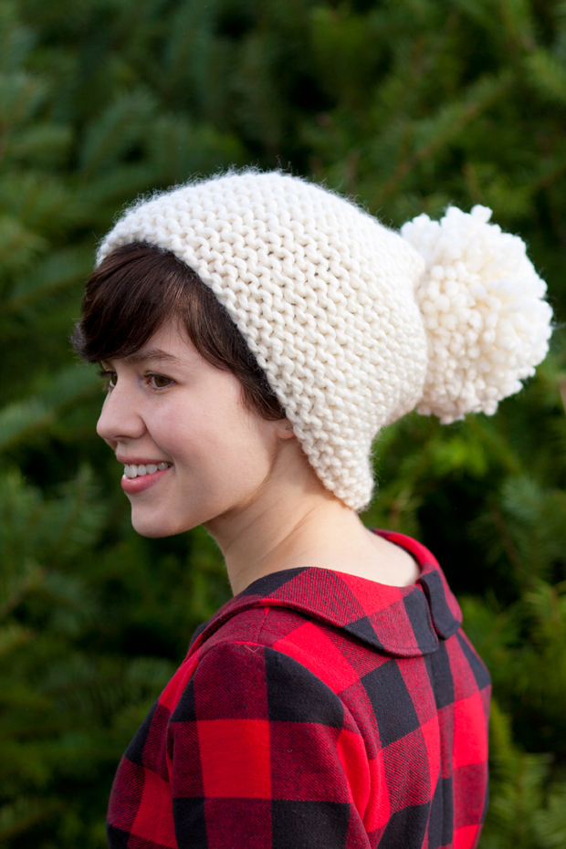 Is + Was: Pom-Pom Hat Pattern