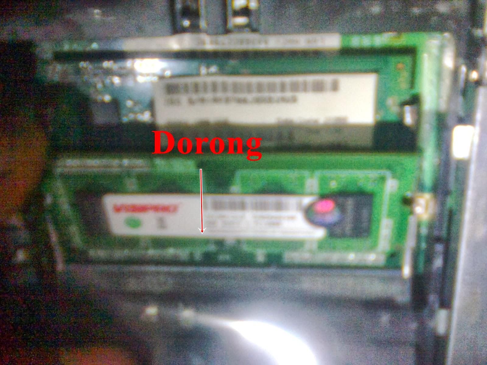 SODIMM DDR3 Masuk