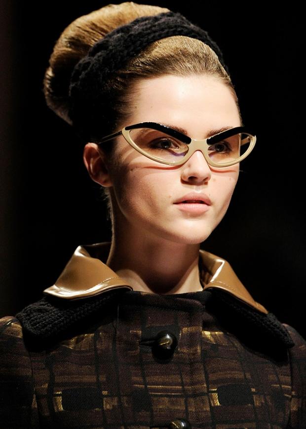 Prada Eyeglass Frames Cateye : my little purple diary: 50s cat eye glasses is back this 2012