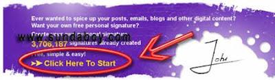 Tanda Tangan Blog