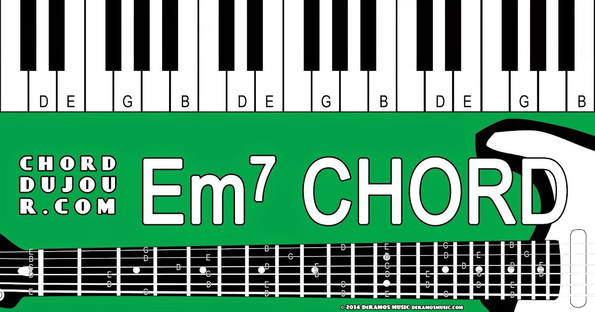 Chord Du Jour Dictionary Em7 Chord