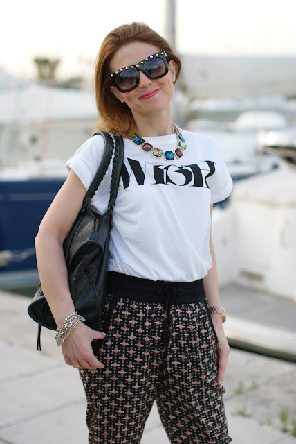 Balenciaga work, wish t-shirt, Zara necklace, Fashion and Cookies