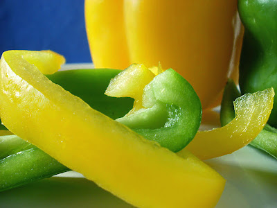 Food Photography - Bell Peppers